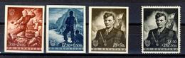 1944 - Croazia Indipendente - 3° Anniversario Dello Stato Croato + Jure Francetic - Nuovi MNH** - Croazia