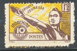 TIMBRE - FRANCE - Indochine - ETAT  FRANCAIS - YT 284 - Neuf - Indochina (1889-1945)