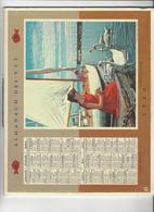 CALENDRIER  ALMANACH DES P T T   1960   MARNE  ****   A  SAISIR  *** - Big : 1941-60