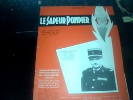 Militaria Pompier Revue Le Sapeur Pompier Juin Juillet 1966 Avec Des Pubs  Pages - Firemen