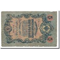 Billet, Russie, 5 Rubles, 1909, KM:10a, TB - Russie