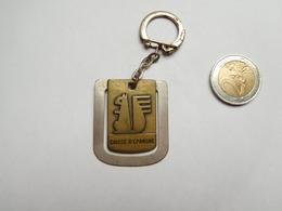 Porte Clés , Banque Caisse D'Epargne De Rouen , Seine Maritime - Porte-clefs