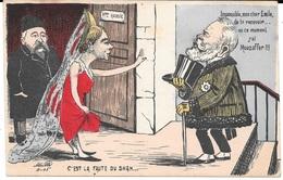 Satirique Par MILLE  - C'est La Faute Du SHAH - Mme RUSSIE - Impossible, Mon Cher Emile, De Te Recevoir En Ce Moment - Satiriques