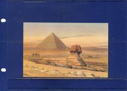 ##(DAN196)- Egypt-  Pyramid Of Giza  & The Sphinx- Written In Esperanto, Shipped In Cover - Sfinge