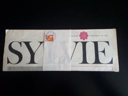 JOURNAL DE SYLVIE VARTAN - Fevrier 1968 - N° 2 - Journal Des Membres Club Sylvie Vartan - Boeken, Tijdschriften, Stripverhalen