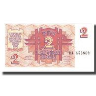 Billet, Latvia, 2 Rubli, KM:36, NEUF - Latvia
