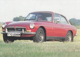 Postcard MG V8 Sports Car  TYO696M Close Up Study By Auto 100 My Ref  B23583 - Passenger Cars