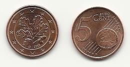 5 Cent, 2017, Prägestätte (D) Vz, Sehr Gut Erhaltene Umlaufmünze - Germania