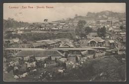 071 CARTE POSTALE - INDE - Coonoor, East View, Shandy Bazaar - Inde