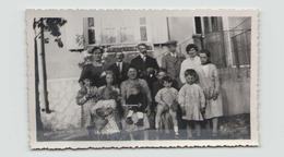PHOTO DE PERSONNES A HAUTEVILLE 1932  11 X 7 CM - Places