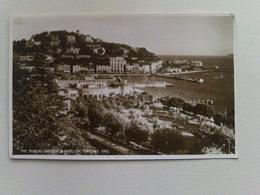 Black And White  Postcard -  The Princess Gardens And Pavilions  Torquay - Torquay