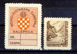 1945 - Croazia Indipendente - Posta Militare - Nuovi MNH** - Croazia