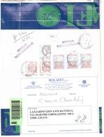 ASSICURATA CON 3 X € 6,20 ALTI VALORI - 1946-.. République
