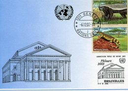 UNITED NATIONS 2002 POSTCARD With MONITOR.BARGAIN.!! - Andere