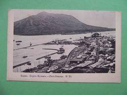 Korea South 1904 Port Fusan, Pusan. Busan. View Of The City And Port. Russian Postcard. - Korea (Zuid)