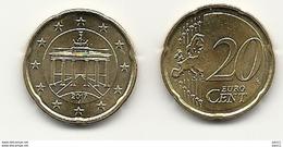 20 Cent, 2017, Prägestätte (J) Vz, Sehr Gut Erhaltene Umlaufmünze - Germania