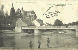 Rochefort -- La Lomme Et L' Eglise. (2 Scans) - Rochefort