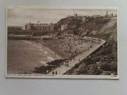 1949 Black And White  Postcard -  East Cliff Sands And New Promenade, Folkestone - Folkestone