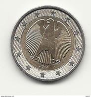2 Euro, 2017,  Prägestätte (J),  Vz, Sehr Gut Erhaltene Umlaufmünzen - Germania