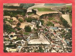 CPSM 1957 Valmont (76) Vue Aérienne Du Centre Et Le Châreau - Valmont