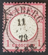 1872 Imperial Eagle With Large Breastshield, Germany Empire, Deutsche Reichs Post, Allemagne, *,**, Or Used - Gebraucht
