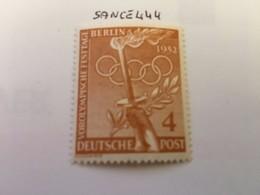 Berlin The Olympic Games 4p Mnh 1952 - [5] Berlin