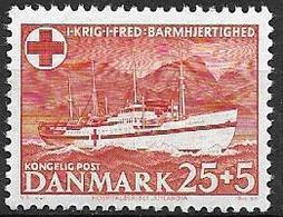 Danemark 1951 N° 343 Neuf** Surtaxe Pour La Croix Rouge - Nuovi