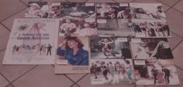 AFFICHE CINEMA FILM L'AMOUR EST UNE GRANDE AVENTURE + 12 PHOTOS Blake EDWARDS TBE 1989 - Affiches & Posters