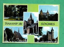 Belgique Hainaut Soignies Carte Postale Multivues - Soignies