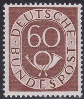 BRD    .     Michel   135  (2 Scans)       .      **      .       Postfrisch   .   /   .    MNH - BRD