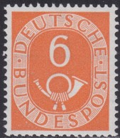 BRD    .     Michel   126        .      **      .       Postfrisch   .   /   .    MNH - BRD