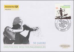 2928 Deutsche Welthungerhilfe (WHH), Schmuck-FDC Deutschland Exklusiv - BRD