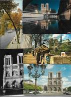 Cpm Cpsm 7519999 Lot De 15 Cartes Notre-dame De Paris Vues Diverses , éditeurs Divers Toutes époques - Sets And Collections