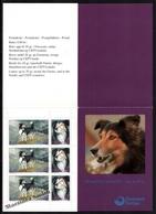 Faroe Islands - Iles Féroé 1994 Yvert 258-59, Fauna, Dogs, Berger Breed – Booklet - MNH - Faeroër