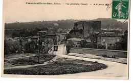 FRANCHEVILLE LE BAS VUE GENERALE TRAMWAY - Frankreich