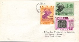 Liberia 1974 FDC 75th Anniversary Of UPU At Monrovia, {Please  Wait For Invoice} - Liberia