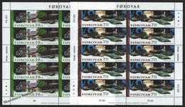 Faroe Islands - Iles Féroé 2005 Yvert 524-25, Europa Cept. Gastronomy – Sheetlets - MNH - Färöer Inseln