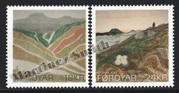 Faroe Islands - Iles Féroé 2010 Yvert 698-99, Art, The Faroe Colours  - MNH - Färöer Inseln