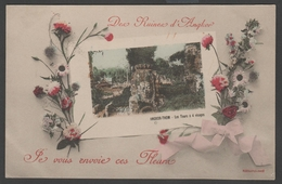 084 CARTE POSTALE INDOCHINE - ANGKOR THOM - Les Tours à 4 Visages - Viêt-Nam