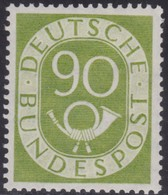 BRD    .     Michel   138  (2 Scans)        .      **      .       Postfrisch   .   /   .    MNH - Nuovi