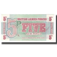 Billet, Grande-Bretagne, 5 New Pence, KM:M44a, NEUF - Forze Armate Britanniche & Docuementi Speciali