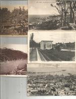 Cp , ALGERIE,Alger , Bel Abbés,Blida,Oran , LOT DE 5 CARTES POSTALES - Cartoline