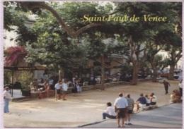 CPM - ST PAUL DE VENCE - PLACE Des JOUEURS De BOULES - Edition ARIS - Pétanque