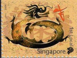 Singapore - 2012 - Year Of The Dragon - Mint Self-adhesive Stamp - Singapur (1959-...)