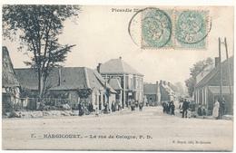 D02 - HARGICOURT - La Rue De Cologne - Sonstige Gemeinden