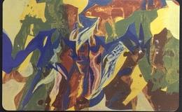Paco \ LUSSEMBURGO \ SC30 \ Art Contemporain - Mett Hoffman \ Usata - Lussemburgo