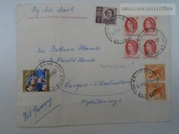 E0140  Australia Cover 1965 Cancel Brisbane Queensland - 1952-65 Elizabeth II: Dezimalausgaben (Vorläufer)