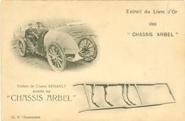 Voiture De Course Renault Chassis Arbel Bd Haussman - Unclassified