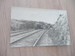 Carte Photo 42 Loire Saint Jodard Tamponnement Du 02 Avril 1924 Accident Train Chemin De Fer - Autres Communes