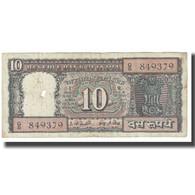 Billet, Inde, 10 Rupees, KM:57a, B - Inde